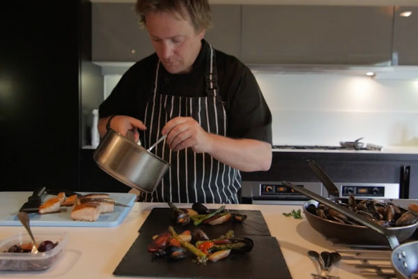 Head Chef Nick Lyon Dean