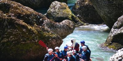 rafting morzine summer
