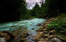 river dranse morzine summer