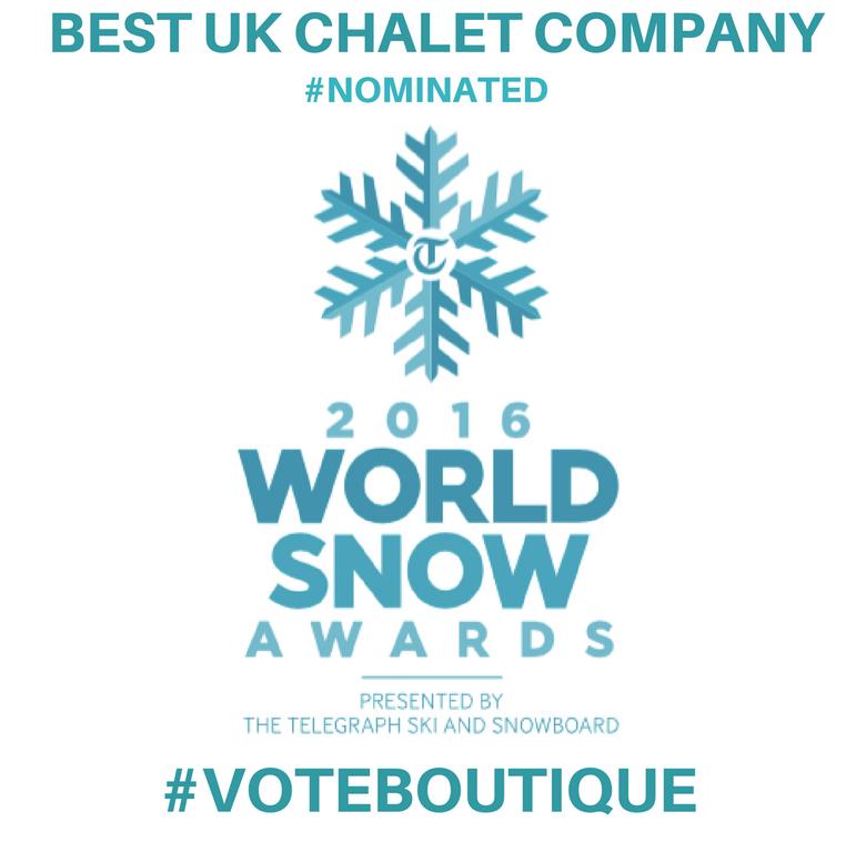World Snow Awards 2016 logo vote boutique