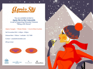 Invite to Apres Ski Skiing with Heroes