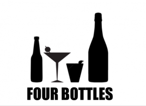 Four Bottle Bar, The Boutique Chalet Company